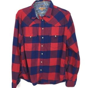 "Jachs Girlfriend ""Bea""  Soft Flannel - L H0634"